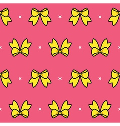 Colorful Bow Pattern vector image