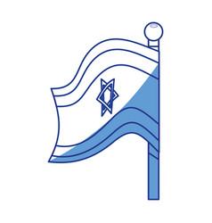 Israel of flag vector