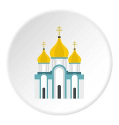 Orthodox church icon circle vector