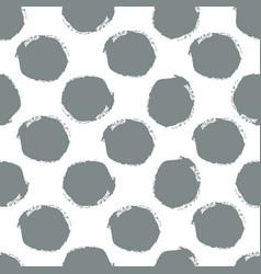 watercolor hand painted polka dot seamless pattern vector image vector image