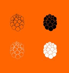 hop icon vector image