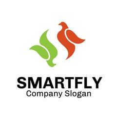 Smart Fly Design vector image