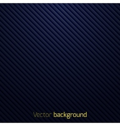 Abstract dark blue striped background vector