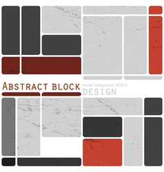 abstract design blocks vector image