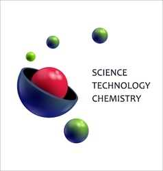 Molecule science technology chemistry vector