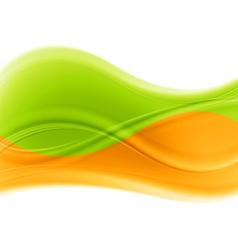 multicolored waves backdrop vector image