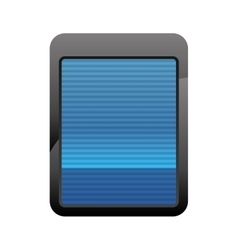 Scanner icon security and protection care vector