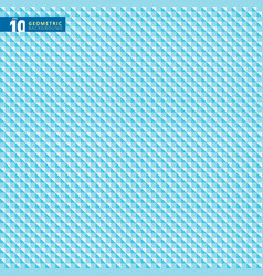abstract geometric triangle blue pattern vector image vector image