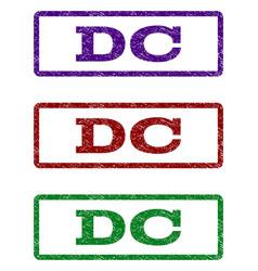 Dc watermark stamp vector