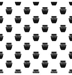 Jam jar pattern simple style vector