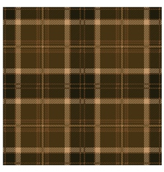 Seamless tartan brown pattern design vector