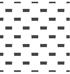 coffin pattern vector image