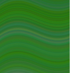 Green smooth wave background design vector