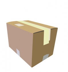 packaging vector image vector image