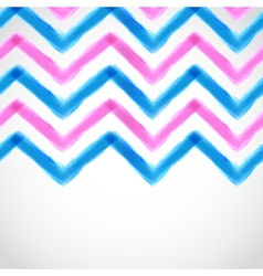 Watercolor background with some stripes vector image vector image