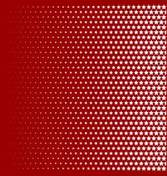halftone pattern background star shapes vintage vector image