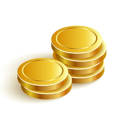 GoldCoins vector image