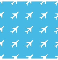 Plane straight pattern vector