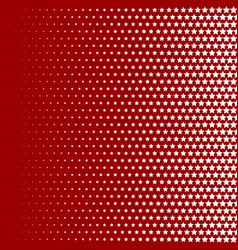 Halftone pattern background star shapes vintage vector