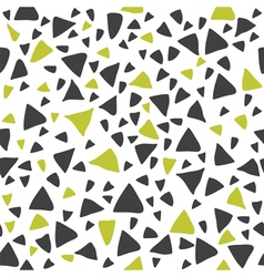 Hand drawn triangle seamless pattern vector image vector image