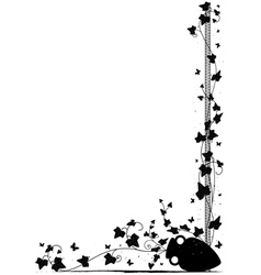 Ivy background vector