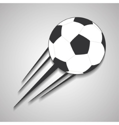 Ball of soccer sport design vector
