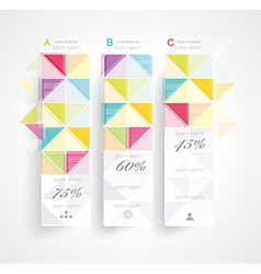 Abstract Minimal Ifographic Design vector image