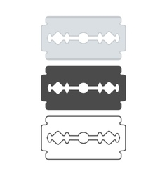 Blade set vector image