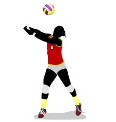 Al 0403 volleyball 02 vector