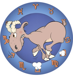 Chinese horoscope cartoon vector image