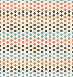 point seamless pattern vector image