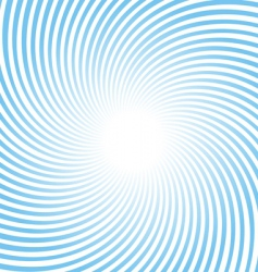Rotating rays background vector