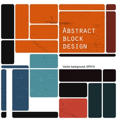 block template design vector image