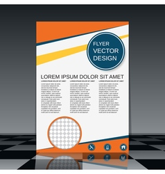 Booklet template vector