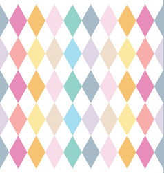 colorful abstract geometric seamless pattern vector image