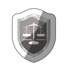 Justice balance law vector