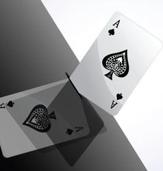 Card ace vector