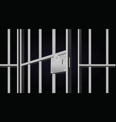 Prison cell vector