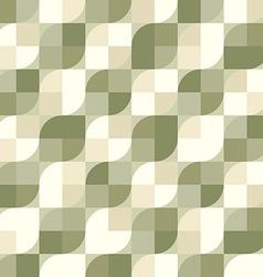 Seamless vintage tiles background vector image