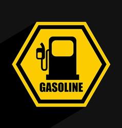 Gas industry design vector