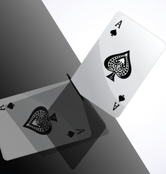 card ace vector image