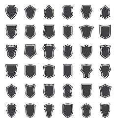 shields set two vector image