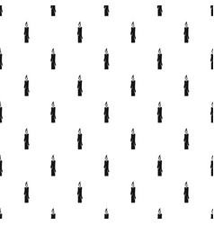 candle pattern vector image