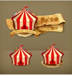 Circus icon vector