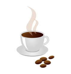 Cup of coffee vector