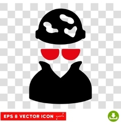 Spotted spy eps icon vector
