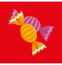 sweet candies design vector image