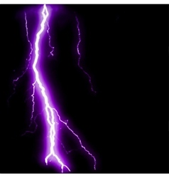 Abstract purple lightning flash background vector image