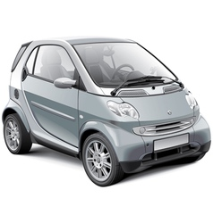 European microcar vector image