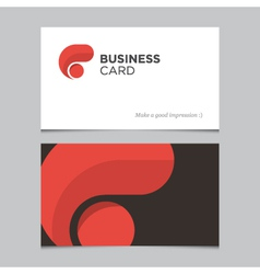 Business card 01 vector